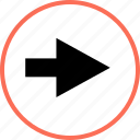 forward, go, menu icon