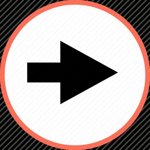 forward, go, menu icon