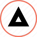arrow, up, upward icon