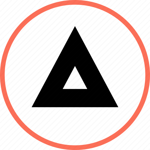arrow, up, upward icon