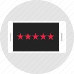 analytics, data, five, info, infographic, rating, star icon