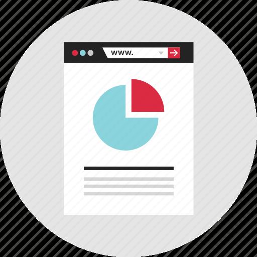 analytics, chart, data, graph, info, infographic, pie icon