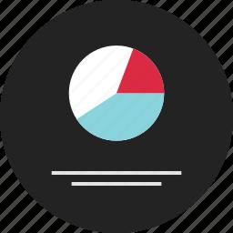 analytics, data, graph, info, infographic, pie, report icon