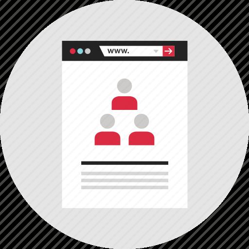 analytics, creators, data, info, infographic, team, youtube icon
