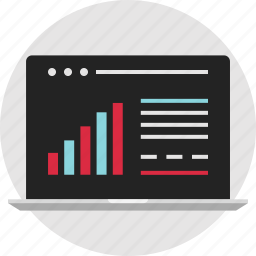 analytics, data, info, infographic, report, results, test icon