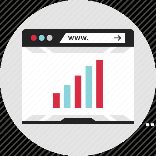 analytics, data, high, info, infographic, revenue, ux icon