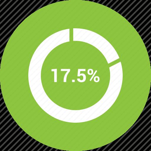 graph, pie chat, presentation, seventy, training icon