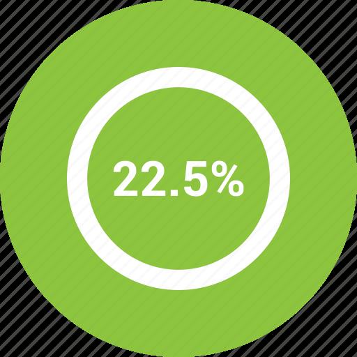 percent, percentage, twenty, two icon