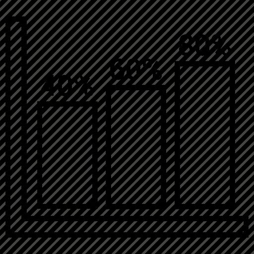 bar, chart, graph, report icon