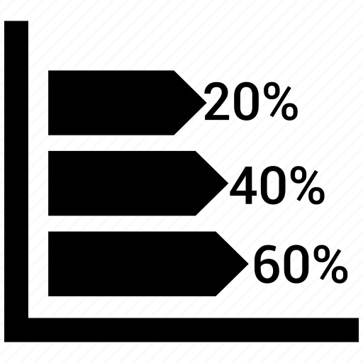 bar, chart, down, graph icon