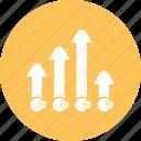 bar, chart, graph, infographi
