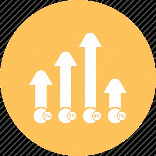 bar, chart, graph, infographi icon