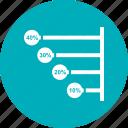bar, chart, horizontal, stacked
