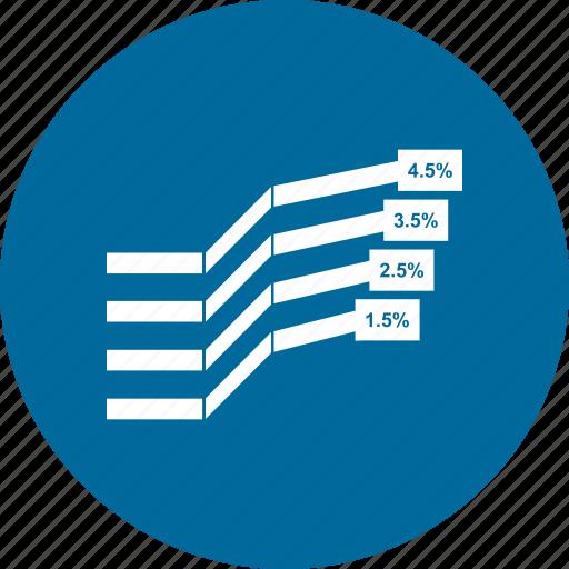 analytics, bar, business, chart, graph, growth bar, infographi icon