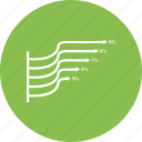 analytics, bar, business, chart, graph, growth bar, infographi icon
