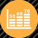 business graph, bar chart, dollar, bar graph