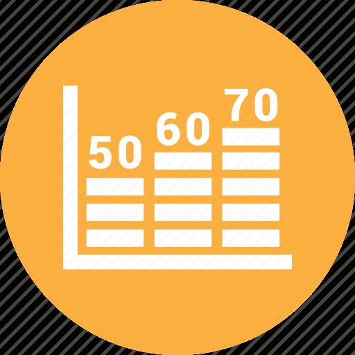 bar chart, bar graph, business graph, dollar icon