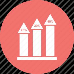 bar, bar chart, chart, ecommerce icon