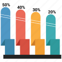 bar, business, chart, graph, growth bar, statistics icon