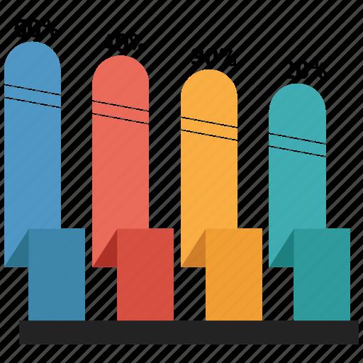 bar, business, chart, graph, growth bar, statistics icon