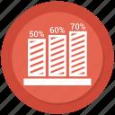 bar, bar chart, chart, diagram icon
