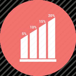 chart, graph, line, timeseries icon