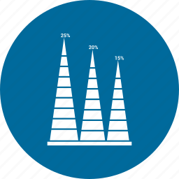 bar, data, growth bar, infographic, information icon