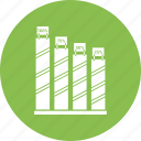 bar, data, growth bar, infographic, information icon