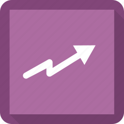 arrow, growth, increase, up icon
