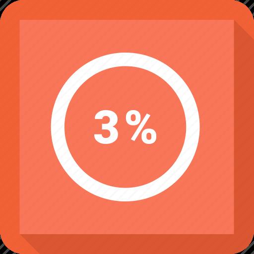 Percentage, three icon - Download on Iconfinder