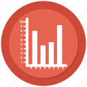 bar, bar chart, business, chart, graph, growth bar icon