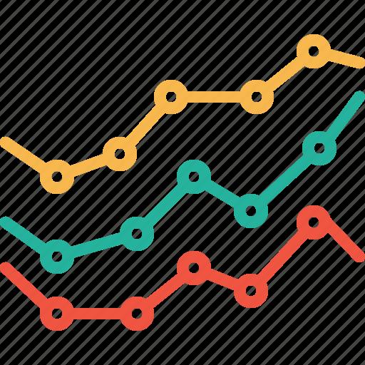 bar, chart, element, graph, infographic, performance, statics icon