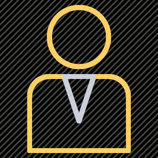 account, avatar, businessman, male, person, profile, user icon