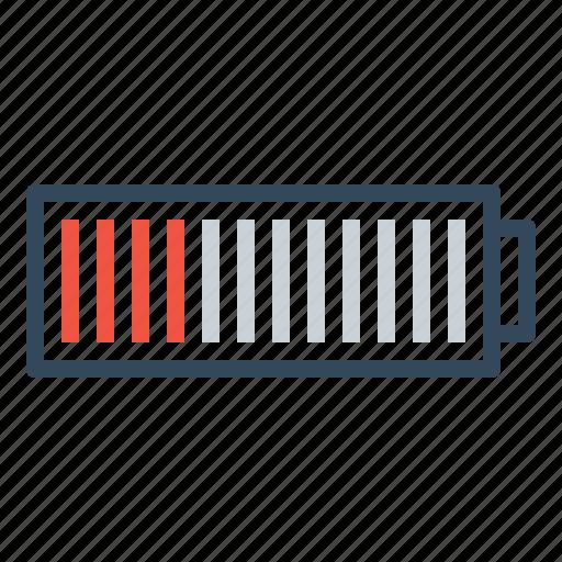 battery, danger, denote, empty, laptop, low, mobile icon