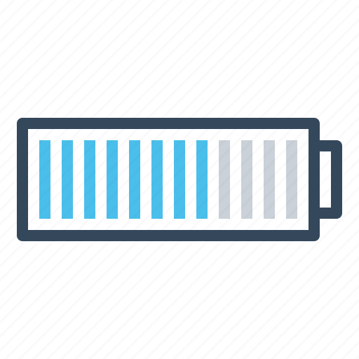 battery, charging, infographic, laptop, medium, mobile, tablet icon