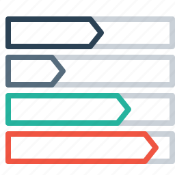 chart, column, performance, side, statics icon