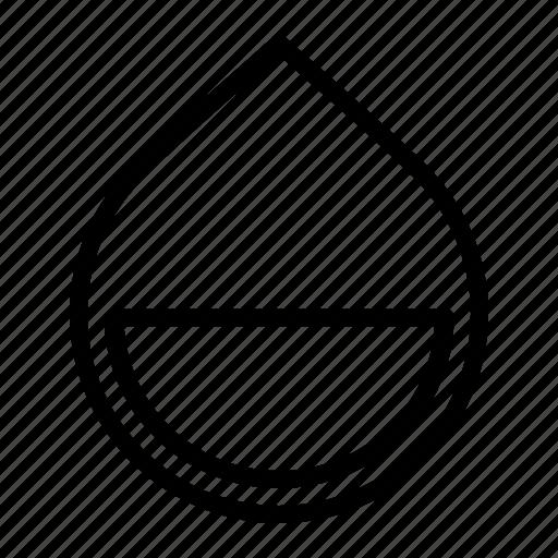drop, element, infographic, measure, statics, water icon