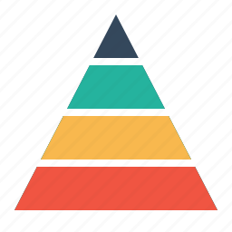business, chart, company, finance, planning, pyramid, statics icon