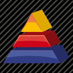 business, cartoon, creative, geometric, modern, triangle, yellow icon