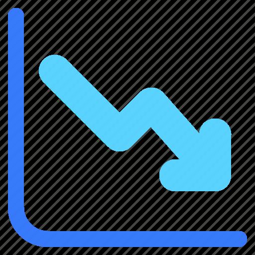 chart, graph, info, infochart, infographic, loss icon