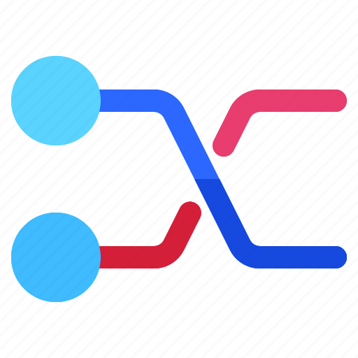 circuit, connections, graph, info, infochart, infographic, printed icon