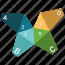 analytics, infographic, pie chart, pie graph icon