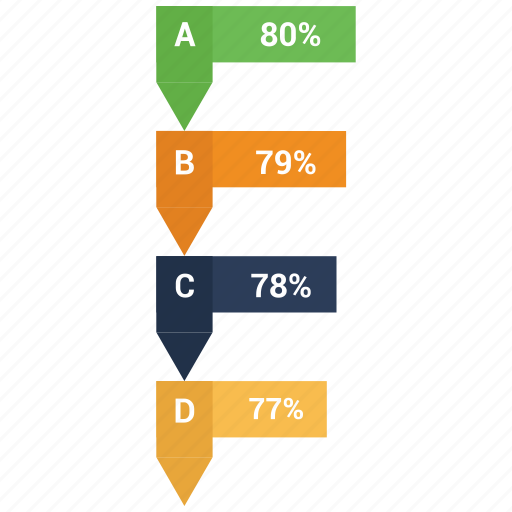 analytics, bar, business, charts, diagram, infographic, ribbon icon