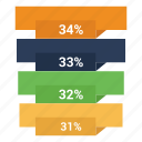 analytics, bar chart, business, chart, graph, infographic icon