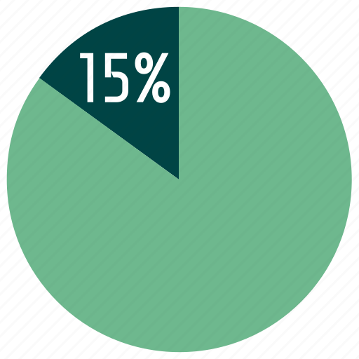 business, diagram, finance, graph, infographics, percent, pie chart icon