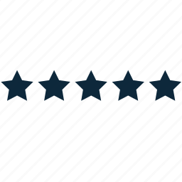 assessment, evaluation, infographics, rating, stars icon