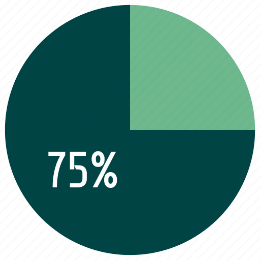 business, diagram, infographics, interest, percent, pie chart icon