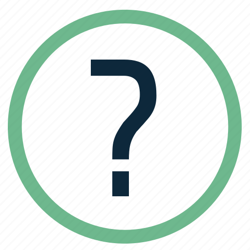 about, faq, help, info, mark, q&a, question icon