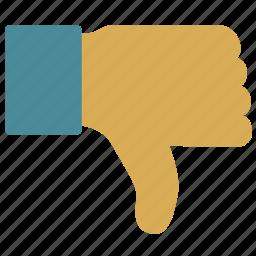 infographics, thumb, thumb down icon