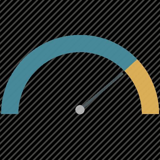 business, chart, infographics, kpi, ppi, scale, sensor icon